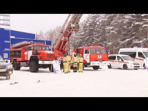 В Нефтекамске состоялся итоговый сбор с руководящим составом гражданской обороны  и Нефтекамского звена БТП РСЧС