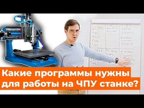Основные программы для работы на ЧПУ станках. Artcam, Autocad, PowerMill.