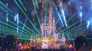 【4K】TDL Celebrate! Tokyo Disneyland(sneak Preview)/ セレブレイト!東京ディズニーランド(スニークプレビュー)【7/9 パートナーズ像横 ※2回目】