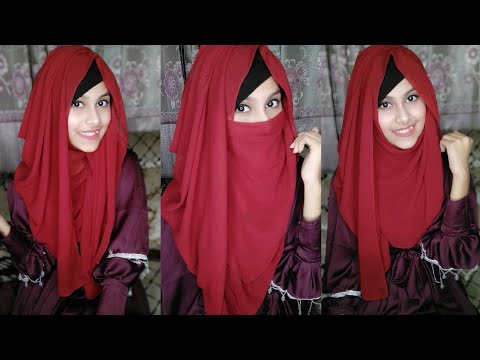 Easy and Classy Hijab & Niqab tutorial with Full Coverage || Noshin Nower ❤