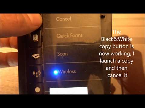 Reset Hp deskjet 3050 to default factory setting - смотреть