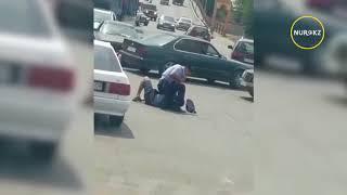 Жесткое задержание в Таразе 12 июня 2018
