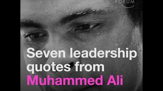 10 Leadership Quotes From Muhammed Ali
