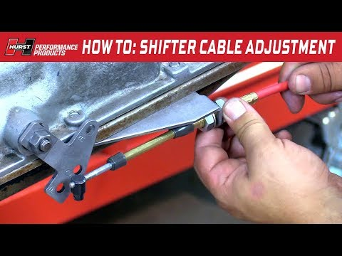 How To Adjust the Shift Cable for your Hurst Pro-Matic and V-Matic Shifter