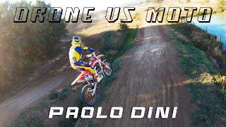 DRONE vs MOTOCROSS - Our drone FPV chases motocross bike