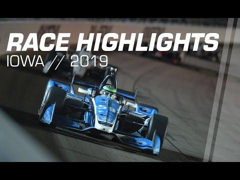 2019 Iowa 300 // Race Highlights // NTT IndyCar Series