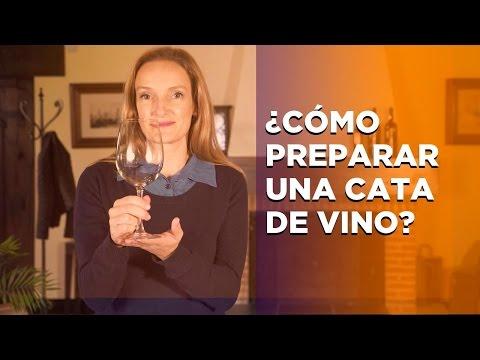 Cómo preparar una cata de Vino (entre amigos)