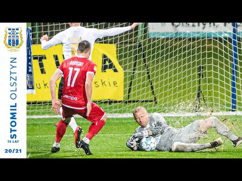 Skrót meczu z meczu Stomil Olszty - Resovia 1:1