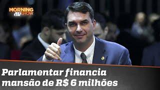 Flávio Bolsonaro e a mansão de R$ 6 milhões