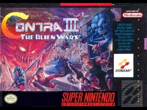 Contra III: The Alien Wars Video Walkthrough
