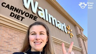 Carnivore Diet Shopping at Walmart | Buy Zero Carb Groceries on a Budget