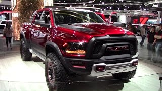 2018 RAM 1500 REBEL TRX Concept  | Close Walkthrough | 2017 NAIAS