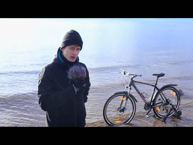 Видео Велосипедные крылья SKS Bluemels 75 U Long black