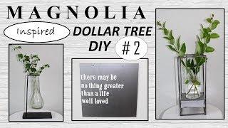 MAGNOLIA Inspired (2019) | Dollar Tree DIY | Farmhouse