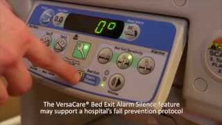Hill-Rom | VersaCare® Bed | Bed Exit Alarm Feature