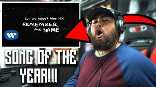 RAPPER REACTS To Ed Sheeran   Remember The Name (feat. Eminem & 50 Cent) [Official Lyric Video]
