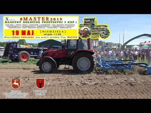 ZAPRASZAMY event rolniczy  #MASTER2019  Maszyny rolnicze Przetestuj i kup ! :) 19 MAJ 2019 (NIEDZIELA OD GODZ. 11.00) BIAŁA PODLASKA przy punkcie sprzedaży firmy Master