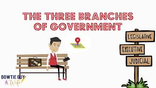 Branches of the U.S. Government - Educational Social Studies Video for Elementary Students & Kids