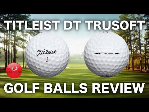 NEW TITLEIST DT TRUSOFT GOLF BALL REVIEW & TEST