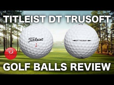 NEW TITLEIST DT TRUSOFT GOLF BALL REVIEW & TEST