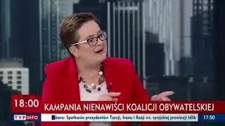 Lubnauer zaorał Ogórek w TVP! Brawo!