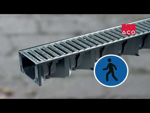 ACO HexDrain Drainage Channels