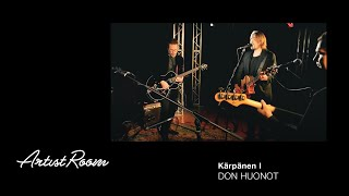 Don Huonot - Kärpänen I (Live) - Genelec Music Channel - Finnish rock