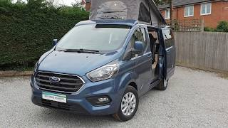 Auto Campers MRv Pop Top Camper Van On A Ford Transit Custom
