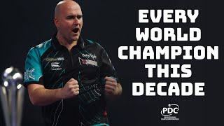 Every World Championship Final This Decade