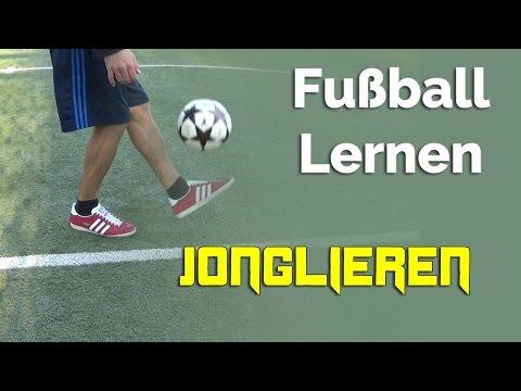 Jonglieren lernen? So geht's! - Fußball lernen für Anfänger
