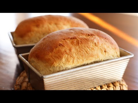 Fluffy homemade bread  (Ppang: 빵만들기)
