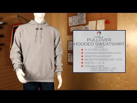 Pullover Hooded Sweatshirt Product Video (F700T)