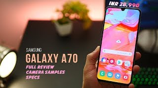 Samsung Galaxy A70 - Full Review, Unboxing, Specs and Price