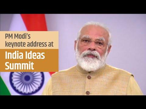 PM Modi's keynote address at 'India Ideas Summit'   PMO