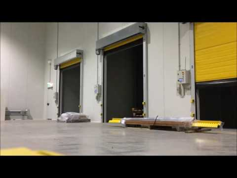 Fast action insulated doors