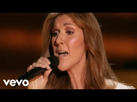 Céline Dion - Because You Loved Me (Live)