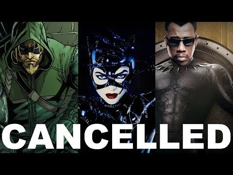 MORE CANCELLED SUPERHERO MOVIES