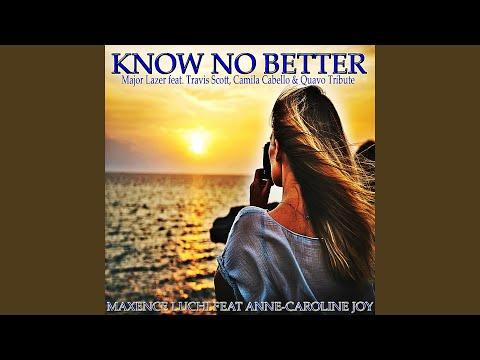 Know No Better (Karaoke Instrumental Major Lazer Feat. Travis Scott, Camila Cabello & Quavo...