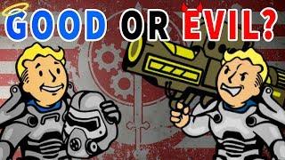 Brotherhood of Steel - GOOD or EVIL?