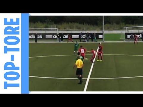 Anstoß-Tor | U17 vom FC Ingolstadt trifft direkt vom Mittelpunkt
