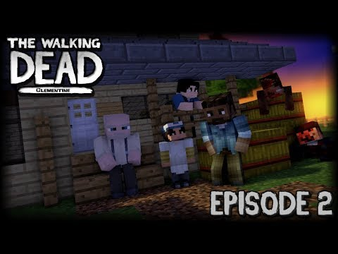 The Walking Dead: Clementine - EPISODE 2 (Minecraft Roleplay)