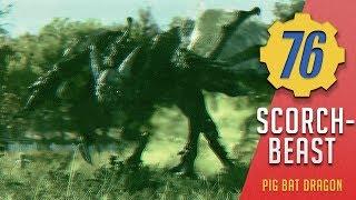 Scorchbeast - Horse Pig Bat Dragon | Fallout 76