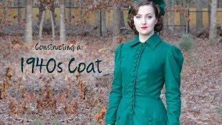 Making An Emerald Green 1940s Coat!
