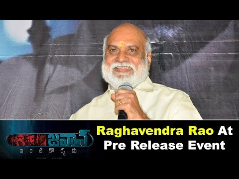 K Raghavender Rao At Jawaan Movie Pre Release Event