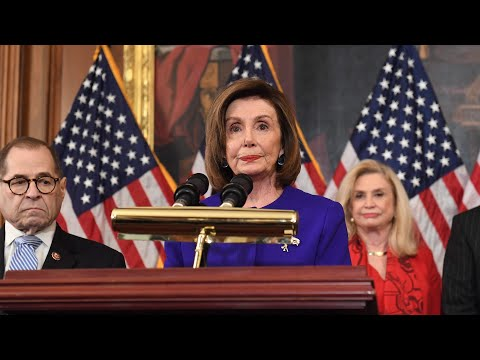 WATCH LIVE: House Democrats unveil articles of impeachment against Trump