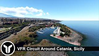 Requested: VFR Circuit Around Catania, Sicily! | Microsoft Flight Simulator 2020 (Preview Build)