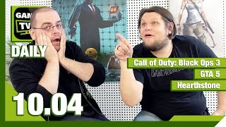 Call of Duty, GTA 5, Hearthstone / Games TV 24 Daily - 10.04.2015