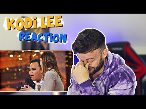 FIRST TIME Reacting to Kodi Lee on America's Got Talent (видео)