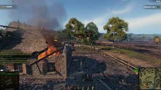 World of Tanks. Линия фронта видео. Т-44ФЛ.