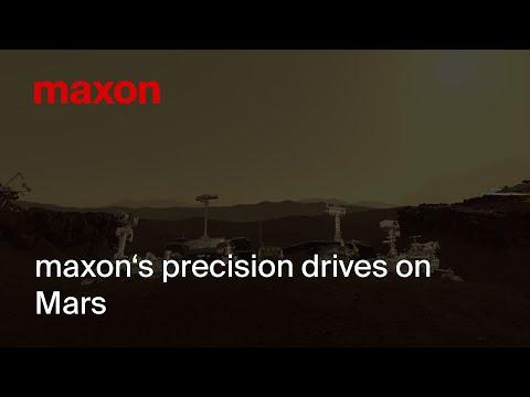 maxon's precision drives on Mars